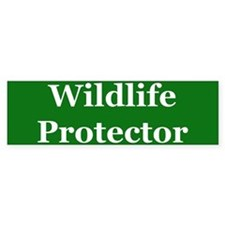 Wildlife Protector Bumper Bumper Sticker