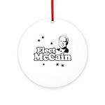 Elect McCain Ornament (Round)