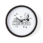 Elect McCain Wall Clock