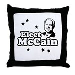 Elect McCain Throw Pillow