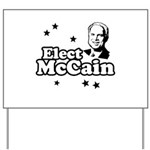 Elect McCain Yard Sign