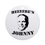 Heeeeere's Johnny Ornament (Round)
