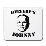 Heeeeere's Johnny Mousepad
