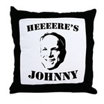 Heeeeere's Johnny Throw Pillow