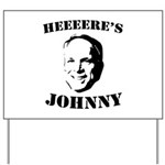 Heeeeere's Johnny Yard Sign