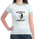 Heeeeere's Johnny Jr. Ringer T-Shirt