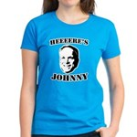 Heeeeere's Johnny Women's Dark T-Shirt