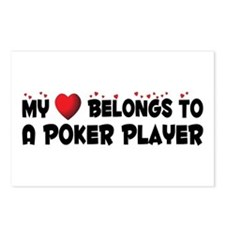Belongs To A Poker Player Postcards (Package of 8)
