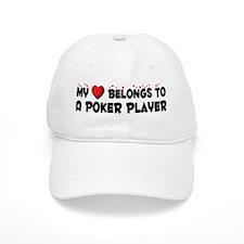 Belongs To A Poker Player Baseball Cap