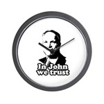 In John we trust Wall Clock