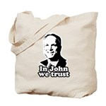 In John we trust Tote Bag