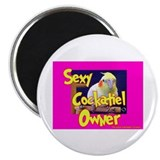 Sexy Cockatiel Owner Magnet