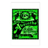 Unique Absinthe Postcards (Package of 8)