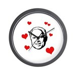 I heart McCain Wall Clock