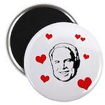 I heart McCain Magnet