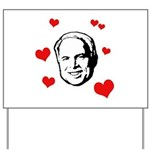 I heart McCain Yard Sign