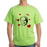 I heart McCain Green T-Shirt
