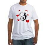 I heart McCain Fitted T-Shirt