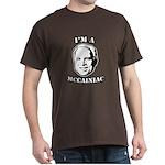 I'm a McCainiac Dark T-Shirt