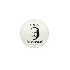 I'm a McCainiac Mini Button (100 pack)