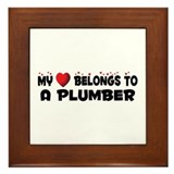 Belongs To A Plumber Framed Tile