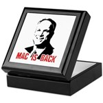 Mac is back Keepsake Box