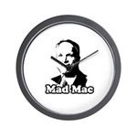 Mad Mac Wall Clock