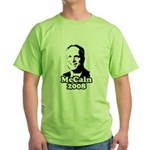 John McCain 2008 Green T-Shirt