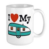 I Love My Trailer Coffee Mug