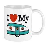 I Love My Trailer Small Mug
