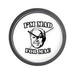 I'm mad for Mac Wall Clock