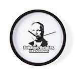 McCain: Senator, soldier, statesman Wall Clock