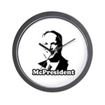 The McPresident Wall Clock