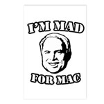 I'm mad for Mac Postcards (Package of 8)
