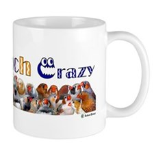 Cute Zebra finches Mug