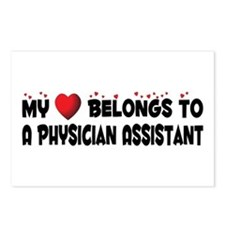 Belongs To A Physician Assistant Postcards (Packag