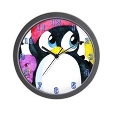 """Chilly & Bob"" Wall Clock"
