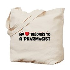 Belongs To A Pharmacist Tote Bag