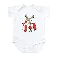 Canada Day Moose Infant Bodysuit