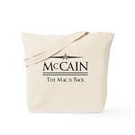 McCain / The Mac is back Tote Bag