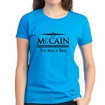 McCain / The Mac is back Women's Dark T-Shirt