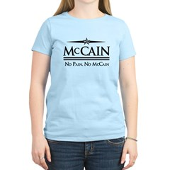 McCain / No Pain, No McCain Women's Light T-Shirt