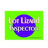 Lot Lizard Inspector Postcards (Package of 8)