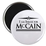 Insane for McCain Magnet