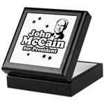 John McCain for president Keepsake Box