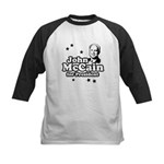 John McCain for president Kids Baseball Jersey