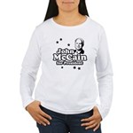 John McCain for president Women's Long Sleeve T-Sh