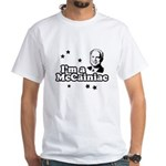 I'm a McCainiac White T-Shirt