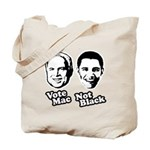 Vote Mac Not Black Tote Bag