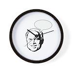 McCain (fill in bubble) Wall Clock